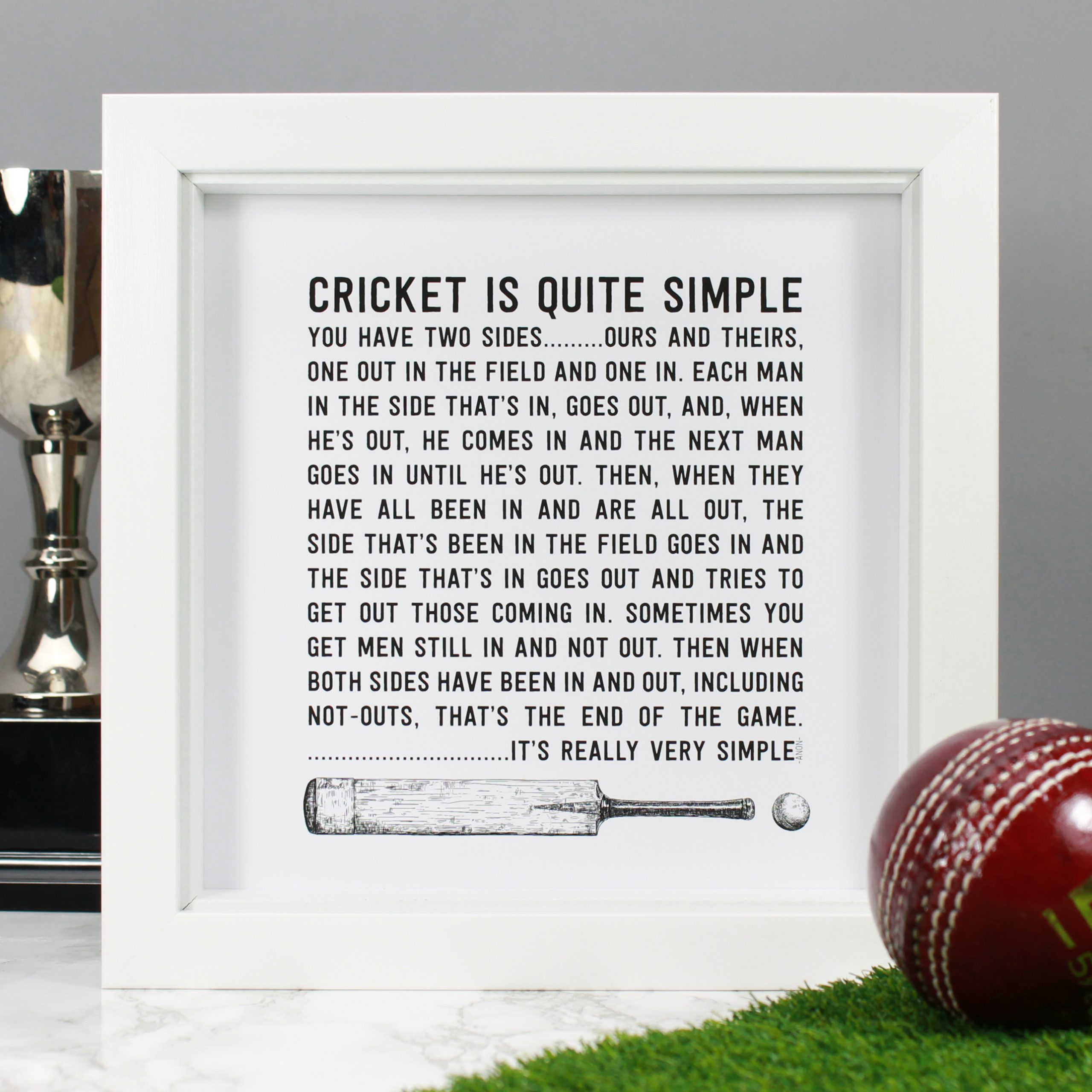 cricket-quote-print-witandwisdomuk - Kate Smith