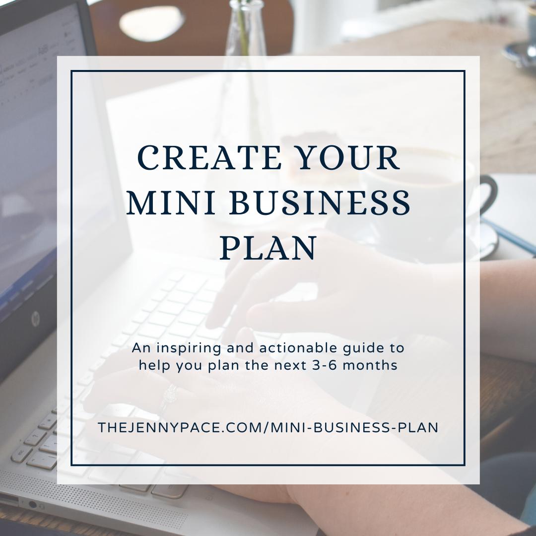 Square Mini Business Plan