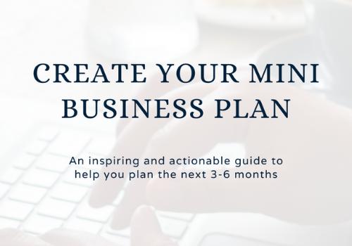 Mini Business Plan course